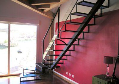escalier marche verre ETS ZANIN 81